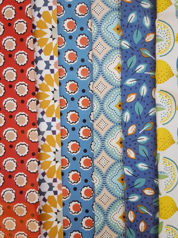 coloris des pochettes Mary and Folks